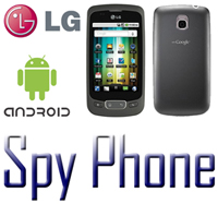 spy phone lg android icone efoto